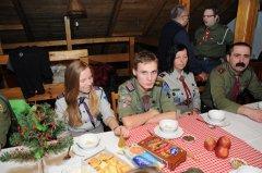 2014-12-19 Wigilijka kadry hufca w Czyżowicach_19