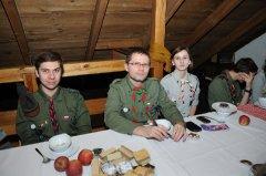 2014-12-19 Wigilijka kadry hufca w Czyżowicach_6